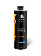 "Olive Oil ""NÉGRETTE"" can 1 liter"