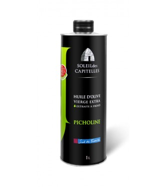 "Olive Oil ""PICHOLINE"" can 1 liter"