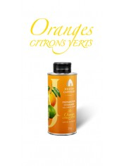 Olive Oil Oranges Lemons Green Tin can 25 cl